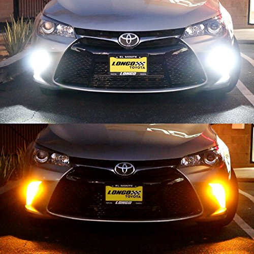 2015 Toyota Camry Xse >> iJDMTOY (2) High Power 42-SMD LED Daytime Running Lights