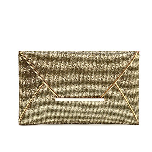 WiTa-Store, Poschette giorno donna oro gold gold