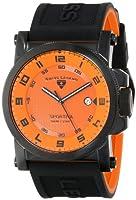Swiss Legend Men's 40030-BB-06 Sportiva Analog Display Swiss Quartz Black Watch from Swiss Legend