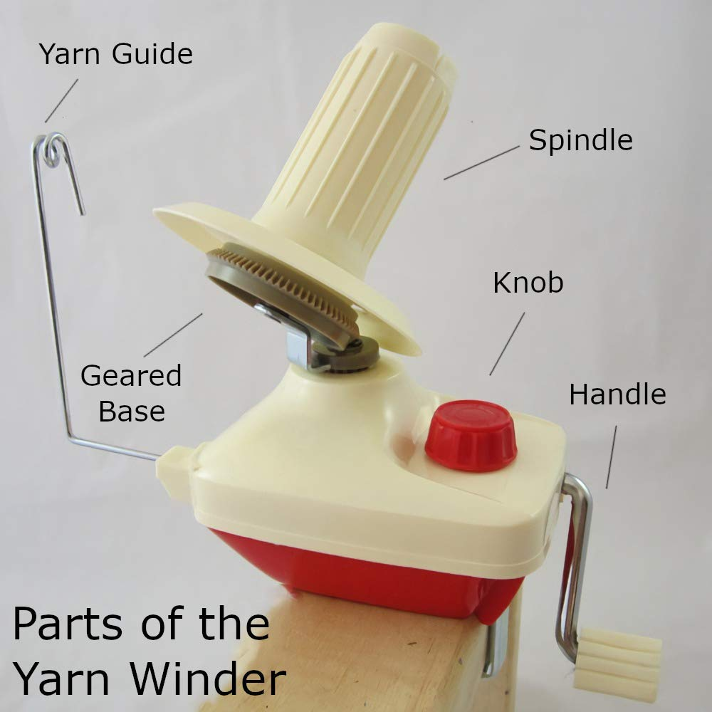 Bobbin Yarn Fiber String Ball Wool Winder Table Clasp Machine Sewing Accessories Knitting Tool Hand Operated Wool Winder Holder and Umbrella Swift Yarn Winder