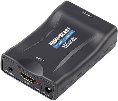 Adaptador HDMI a SCART Euroconector Convertidor Xbox ...