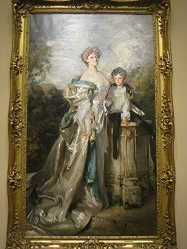 The Museum Outlet - Lady Warwick and her Son, 1905, by John Singer Sargent (1856-1925) - Canvas Print Online Buy (60 X 80 Inch) (Flower Shop Warwick)