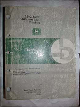 John Deere 5200 5300 5400 5500 Tractor Technical Service Manual. John Deere 5200 5300 5400 5500 Tractor Technical Service Manual Tm1520 Amazon Books. John Deere. John Deere 5200 Tractor Wiring At Scoala.co