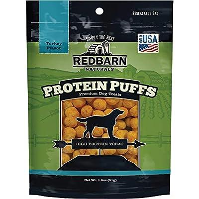 Redbarn Pet Products 255036 Protein Puffs Dog Turkey Dry-Pet-Food, 1.8 Oz
