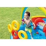 "Intex Rainbow Ring Inflatable Play Center, 117"" X"