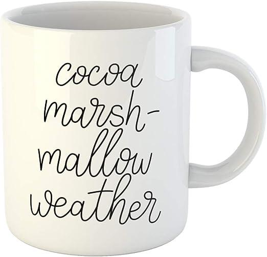 com emvency ounces coffee mug funny cocoa marshmallow