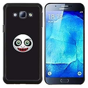 """Be-Star Único Patrón Plástico Duro Fundas Cover Cubre Hard Case Cover Para Samsung Galaxy A8 / SM-A800 ( Cara Máscara Evil"""" )"""