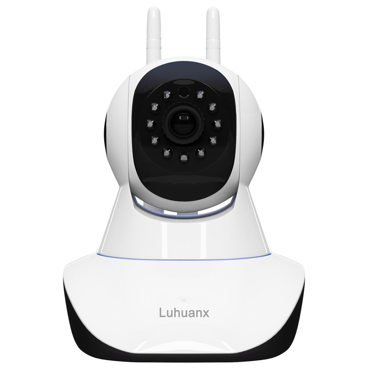 Luhuanx 960P HD WiFi IP Camera with 16G TF Card Wireless Indoor Camera Night Vision Home Security Surveillance Camera Motion Detection Two-Way Audio Pan Tilt Zoom Monitor for Baby Elder Pet