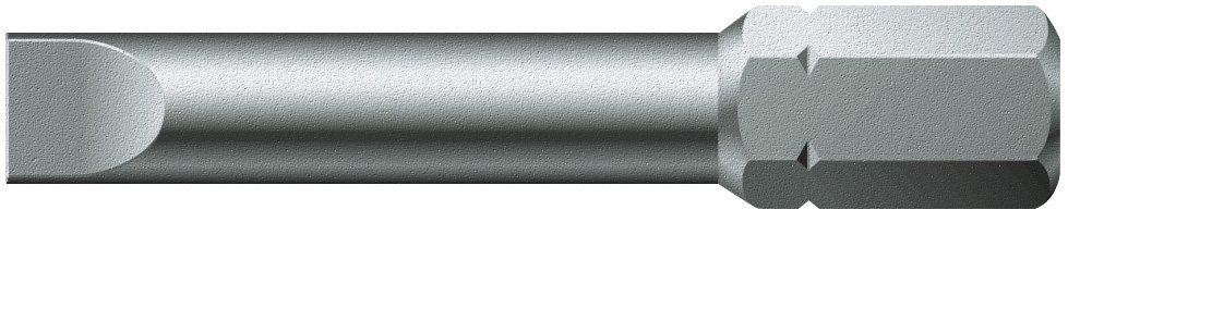 5//16 Drive Pack of 10 Slotted 1mm x 5.5mm Wera Series 2 800//2 Z Sheet Metal Bit