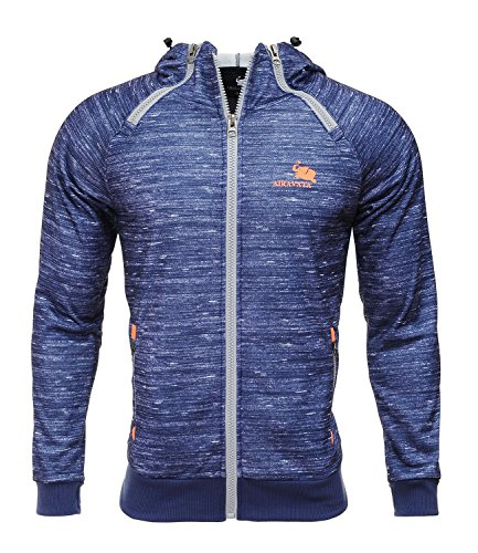 Zip Hoodie Sweatshirt Jacket - 5