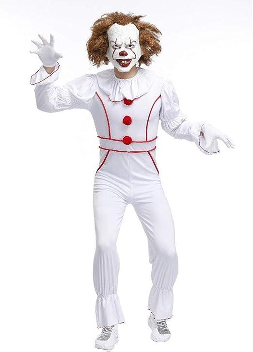 YXRL Halloween Cosplay Payaso De Regreso Al Alma Disfraz De Payaso ...