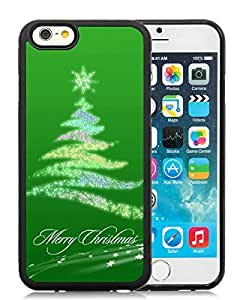 Featured Desin iPhone 6 Case,Christmas Tree Black iPhone 6 4.7 Inch TPU Case 24 wangjiang maoyi
