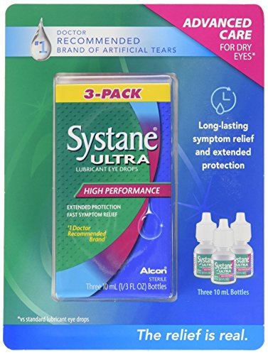 (Systane Ultra Lubricant Eye Drops, 30 ml.)