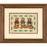 Dimensions Needlecrafts Counted Cross Stitch, See No Evil