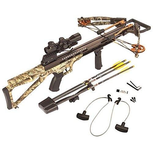Carbon Express Covert Bloodshed Ready-to Hunt Crossbow Kit, Kryptek Highlander Camo, One Size