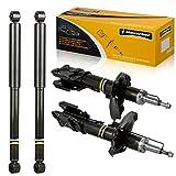 Maxorber Full Set Shocks Struts Absorber Kit Compatible with 1999 2000 2001 Nissan Pathfinder Infiniti QX4 - 335030 335031 343379 343379 (Front Set & Rear Set)