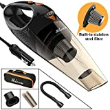 Hikeren Wet&Dry Car Hand Vacuum Cleaner 12V DC 106W HEPA Filter