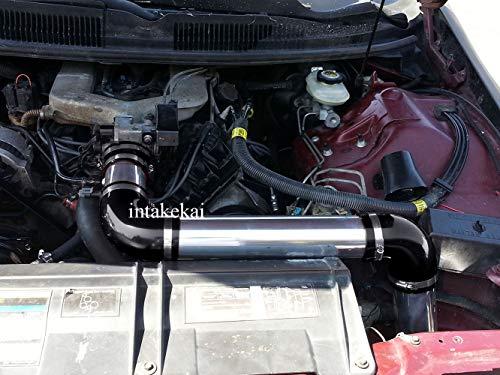PERFORMANCE COLD AIR INTAKE KIT FOR 1993-1995 CHEVROLET CAMARO PONTIAC FIREBIRD 3.4 3.4L V6 ENGINE (BLACK) ()