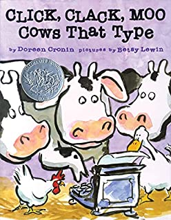Click, Clack, Moo Cows That Type (0689832133) | Amazon price tracker / tracking, Amazon price history charts, Amazon price watches, Amazon price drop alerts