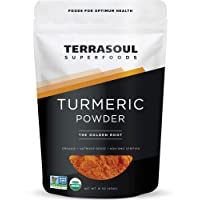 Terrasoul Superfoods Organic Turmeric Powder, 16 Oz - Curcumin | Lab Tested for...