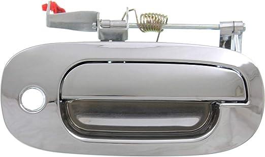 Exterior Door Handle For 2000-2001 Dodge Dakota 98-2001 Durango Front Left Black