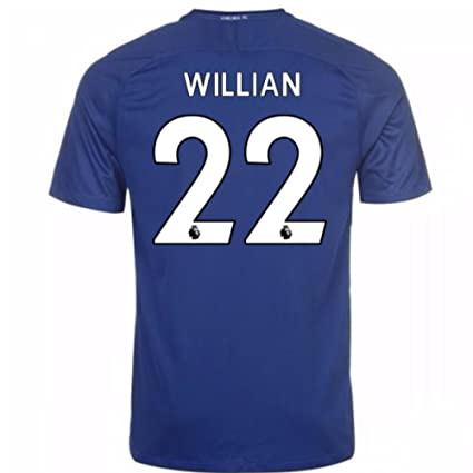 b29c6ec656f Image Unavailable. Image not available for. Color: 2017-18 Chelsea Home  Football Soccer T-Shirt ...