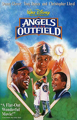 72745 Angels in The Outfield Baseball Danny Glover Decor Wall 16x12 Poster Print (30 For 30 Angels In The Outfield)
