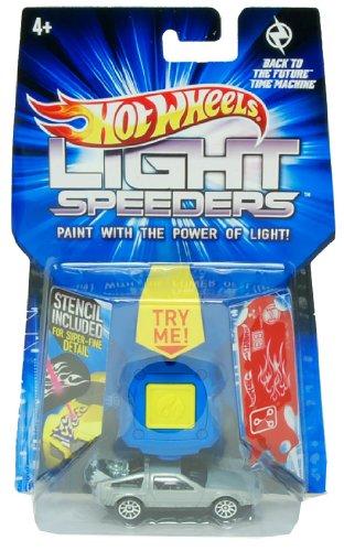 Mattel 2012 Hot Wheels Light Speeders - Back To The Future Time Machine