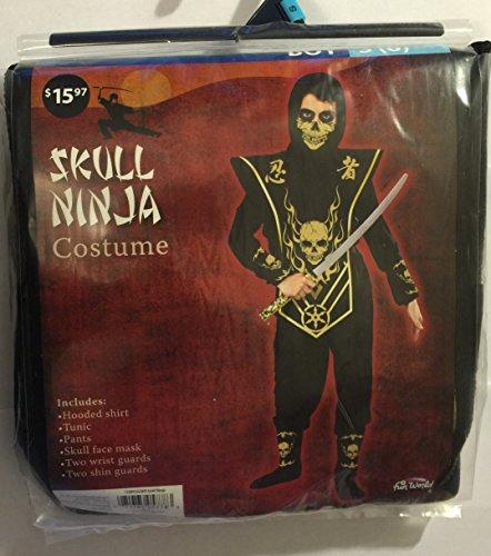 Skull ninja costume - small 6 (Walmart Boys Costumes)