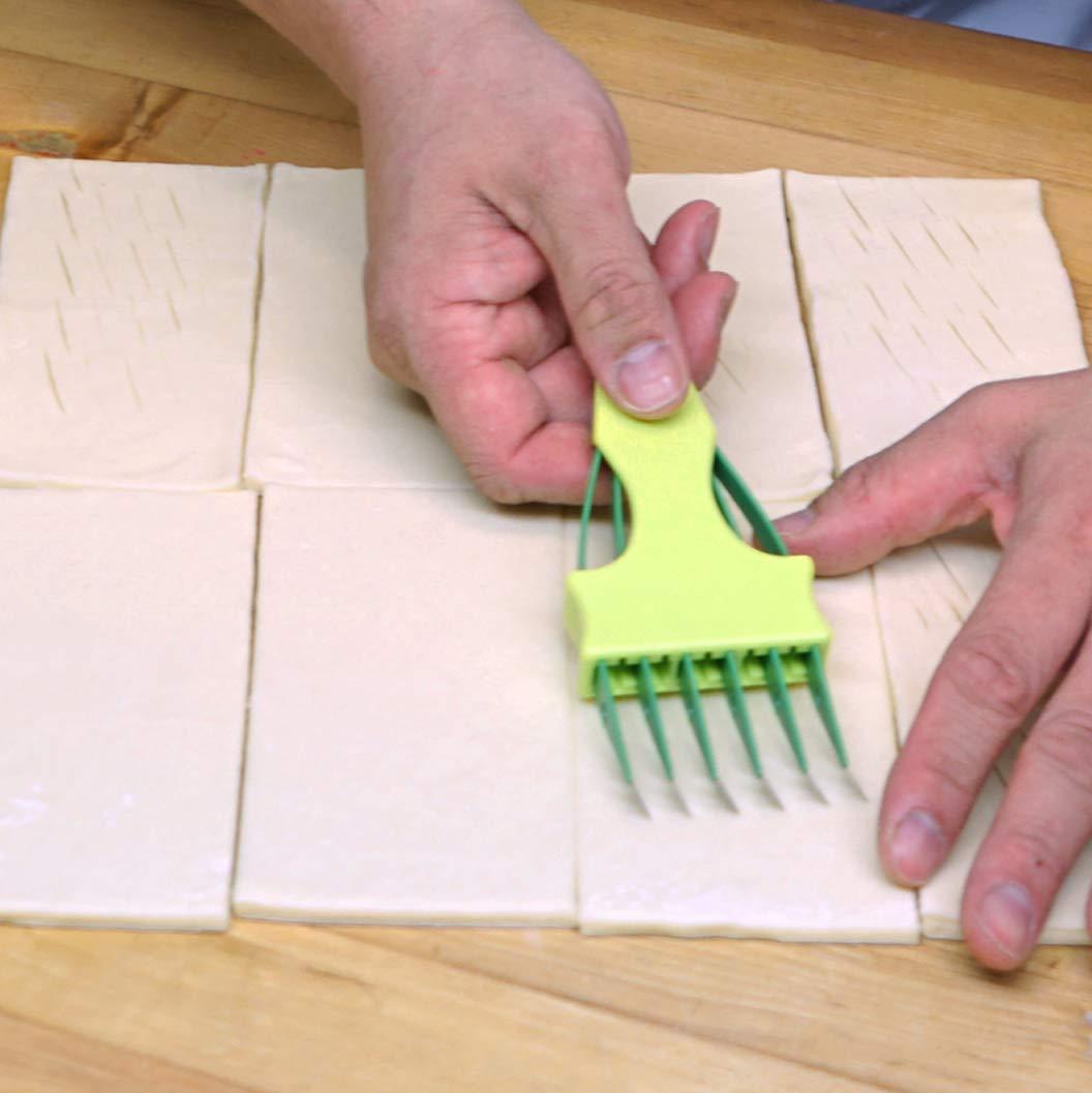 Scandibake Multi Blade Scoring Tool 6 Blade Bakers Lame Professional Bakers Blade Multi Score Pastry in Seconds