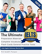 The Ultimate IELTS Preparation Materials Complete Vocabulary Flash Cards General Practice Tests Urdu English Dictionary Word to Word: Remembering vocabulary in use IELTS training reading writing academic study guides books from beginners to advance.