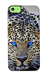 New Arrival ENfgNzS2366jzHLY Premium Iphone 5c Case(blue Eyed Cheetah)