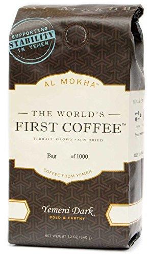 - Al Mokha: The World's First Coffee. Yemen Dark Roast (whole bean)