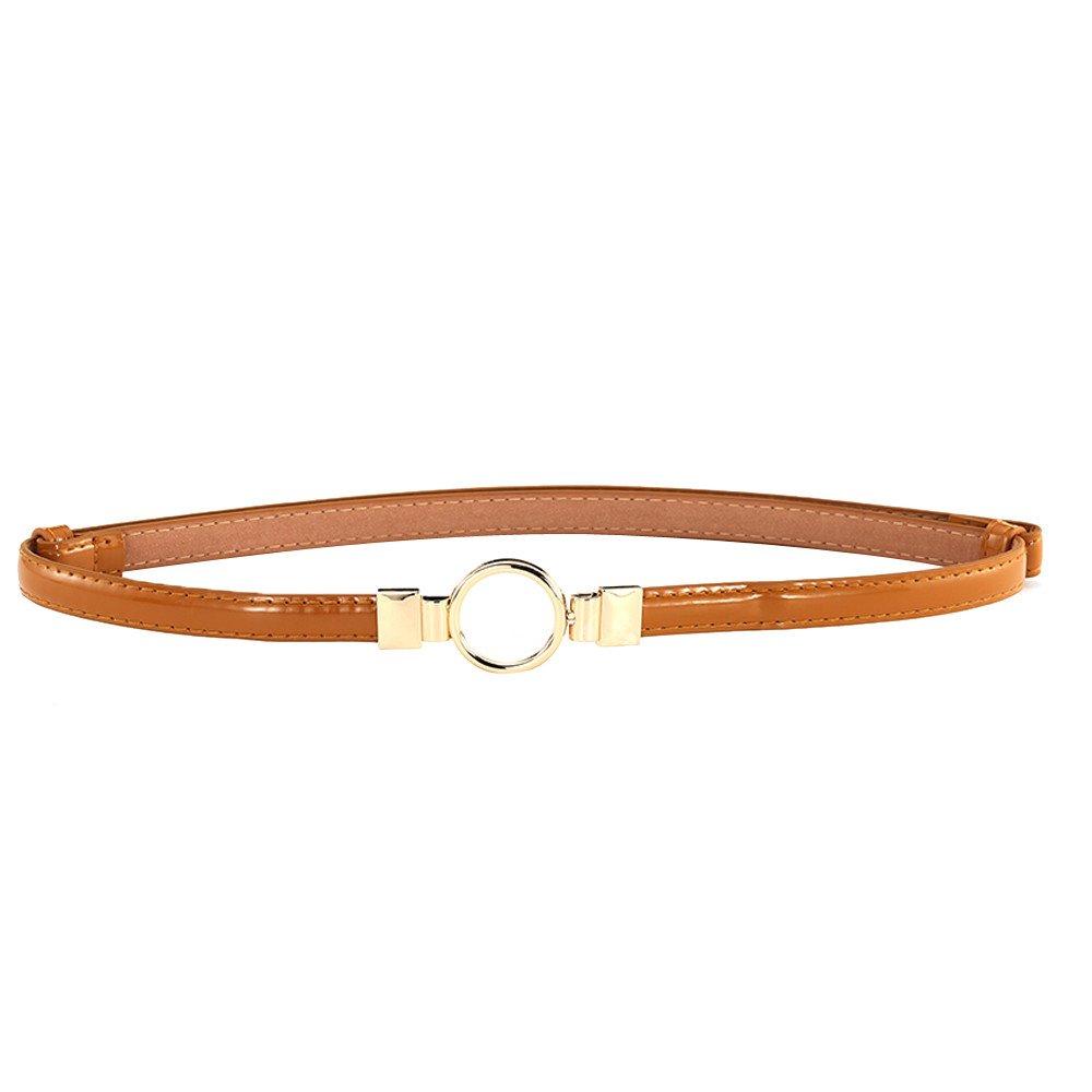 Cintura Sottile Moda Femminile Cintura Fibbia in Cintura da Cintura con Fibbia Regolabile per Cintura da Donna,Moda Donna Fibbia Sottile Cintura Elegante Vita Stretta Vita Regolabile