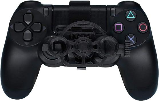 PS4 - Volante de Carreras para Juegos (Mejorado), Volante con ...