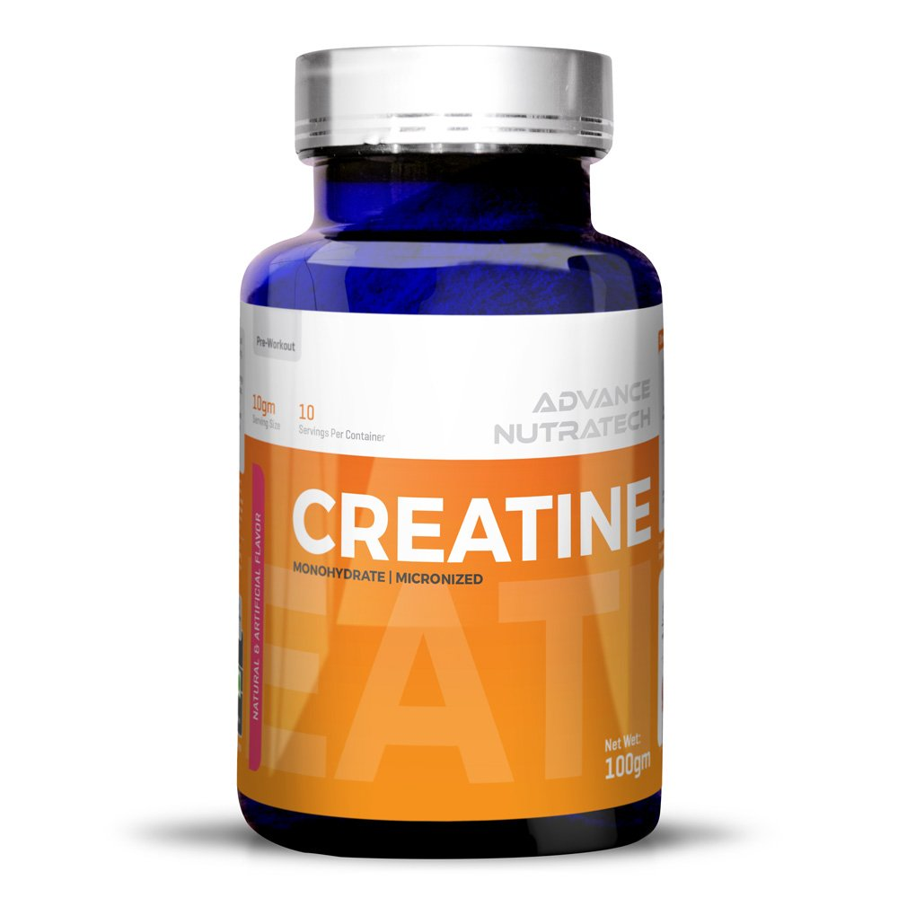 Creatine Monohydrate flavored 100 gm For Beginners