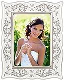 "Lenox Opal Innocence wedding gift, 5"" x 7"", White"