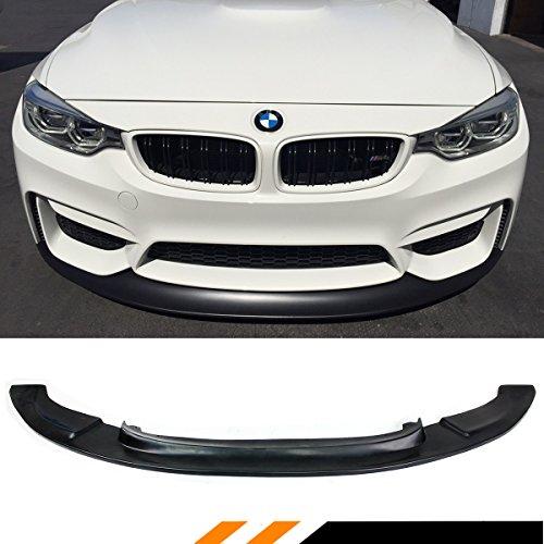 FOR 2015-2018 BMW F80 M3 F82 F83 M4 POLYURETHANE BLACK GT FRONT BUMPER SPLITTER LIP
