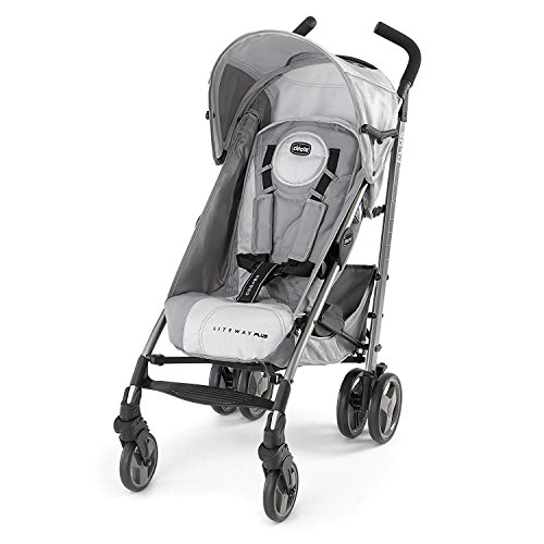 Chicco Liteway Plus Stroller, Silver by Chicco