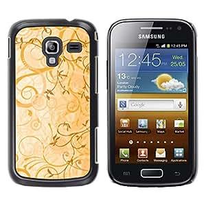 TopCaseStore / la caja del caucho duro de la cubierta de protección de la piel - cvety vetochki uzory ornamenty - Samsung Galaxy Ace 2 I8160 Ace II X S7560M