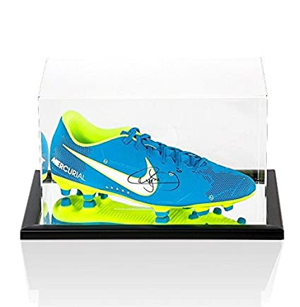 5cd2efdd225 Neymar Jr Signed Football Boot - Blue Nike Mercurial NJR - In Acrylic  Display Ca - Autographed Soccer Cleats at Amazon s Sports Collectibles Store