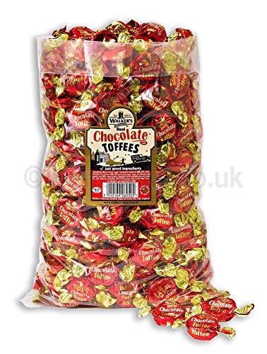 Walker's Nonsuch Chocolate Toffees 2500gram