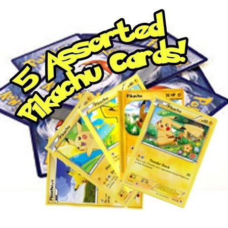 Pikachu Pokemon Card - 3. 5 Assorted Pikachu Pokemon Cards