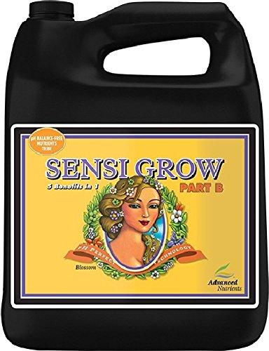Sensi Grow Part - Advanced Nutrients pH Perfect Sensi Grow Part B Plant Nutrient, 4L