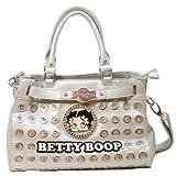 Betty Boop Metal Ring Rhinestone Studs L Shoulder bag handbag Purse tote BB850, Bags Central