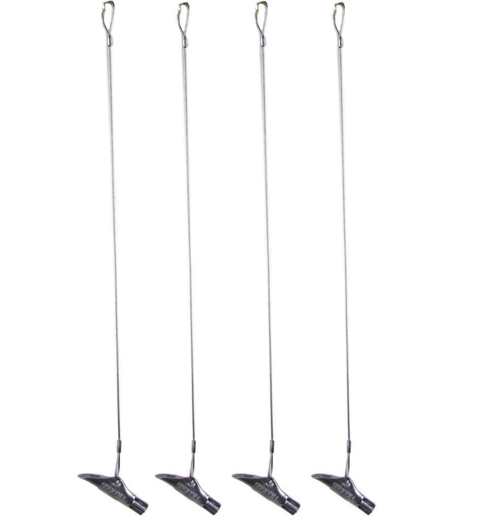 Pack of 4 - Duckbill 40-DB1 Earth Anchor - Small