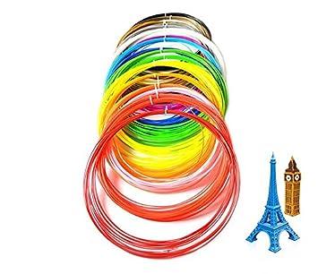 3d pen filamento recargas - 20 colores Material de 1,75 mm PLA ...