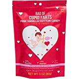 #4: Bag of Farts Cotton Candy Funny for All Ages Unique Birthday Gag Gift for Friends, Mom, Dad, Birthday Girl, Boy Grandson Granddaughter Present (Cupid Farts Pink Vanilla Cotton Candy)