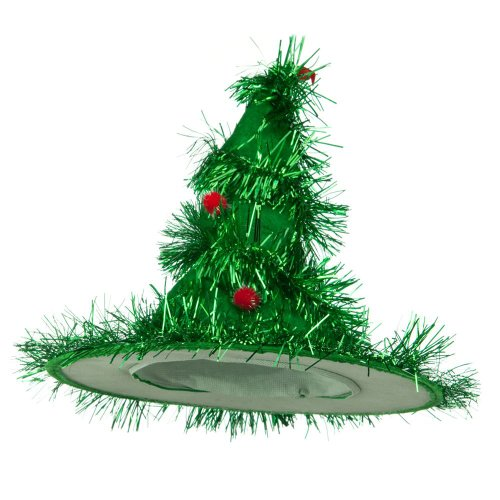 [X-mas Hat-Green Tree] (Crazy Christmas Hats)