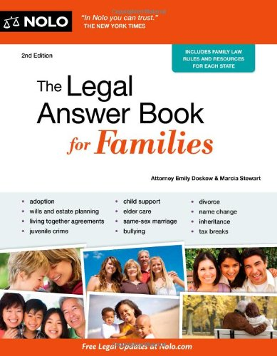 The Legal Answer Book For Families.